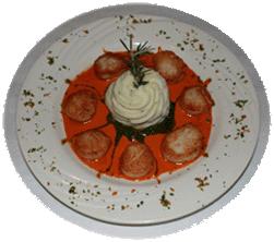 Carpaccio Scallops Genovese
